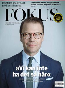 Prins Daniel, MODs beskyddare, i tidningen Fokus.