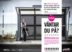 Maria, en av kampanjpersonerna i #vadväntardupå