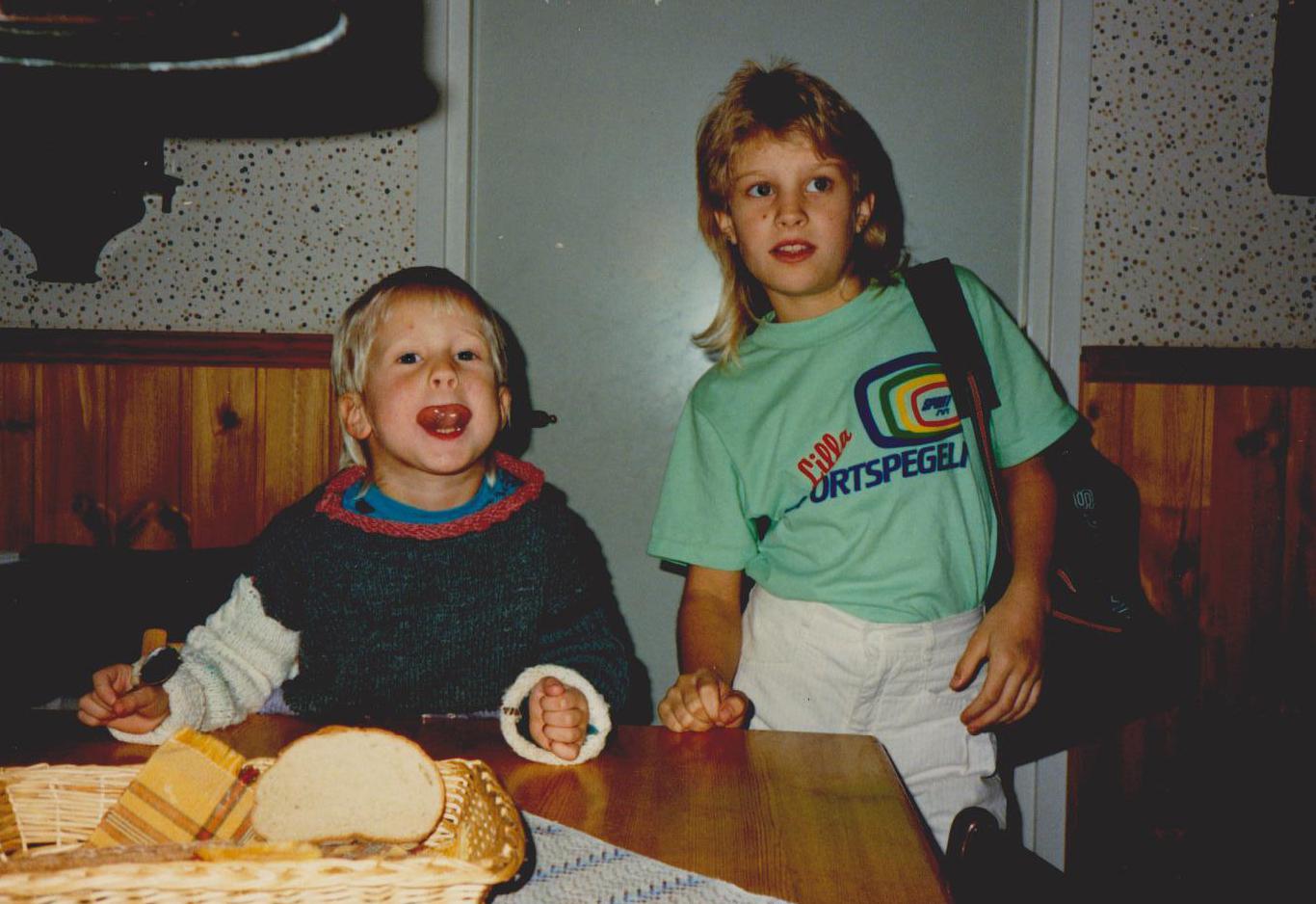 Kajsa Stark + syster Stina
